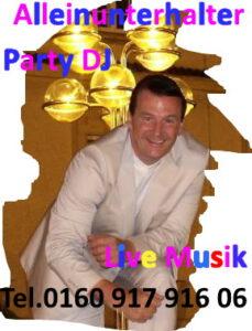 Alleinunterhalter Düren und DJ Düren