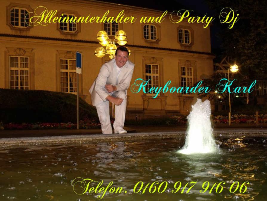 Alleinunterhalter NRW - Party DJ NRW - Keyboarder Karl - Mai 2020