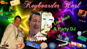 Referenzen / Bewertungen Alleinunterhalter NRW und DJ NRW Keyboarder Karl