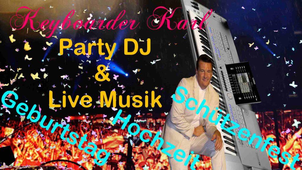 DJ Bonn und Party DJ Bergheim - Alleinunterhalter Bonn - Musiker Euskirchen Aachen Heinsberg Mönchengladbach Köln und Bochum zum Festpreis