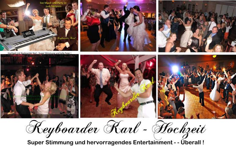 Hochzeit mit Alleinunterhalter NRW und DJ NRW Keyboarder Karl - Top Stimmung