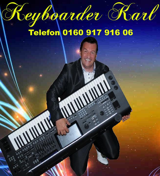 Alleinunterhalter NRW - DJ NRW - Live Musiker und Party DJ Keyboarder Karl