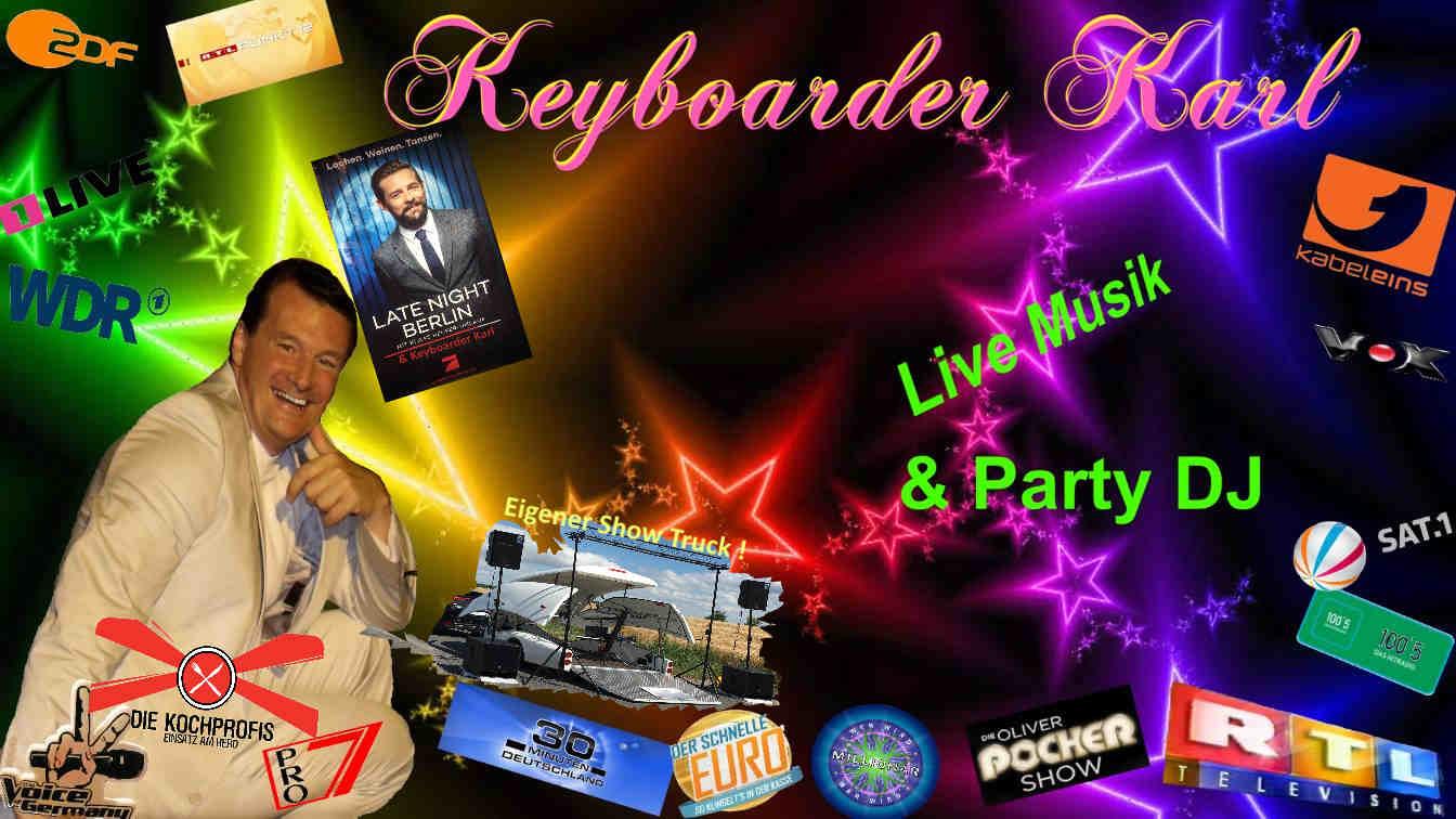 Show Truck Keyboarder Karl - Unfassbare Bühne - Open Air und überall einsetzbar